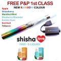 Rainbow eGo-T CE4 Blister Electronic Cigarette Single Kit (Reusable) One Free Flavour